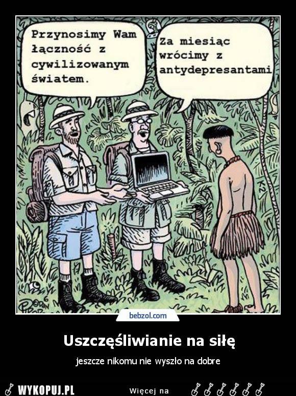Memy Uszczęśliwianie na siłę - Wykopaliska z internetu. Memy, śmieszne  Gify, Demotywatory. I pełne humoru Obrazki i Żarty